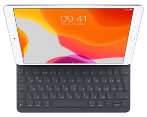 Чехол с клавиатурой Apple Smart Keyboard Charcoal Gray для iPad 10.2/Air (2019)/Pro 10.5