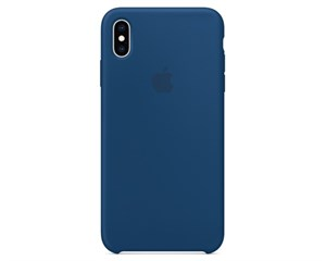 Панель-накладка Apple Silicone Case Blue Horizon для Apple iPhone XS Max