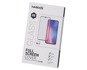Стекло защитное Hardiz Full Screen Cover Premium Tempered Glass Black Frame для Xiaomi Mi 9