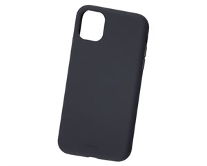 Панель-накладка Uniq Lino Black для Apple iPhone 11