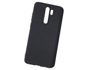 Панель-накладка NewLevel Fluff TPU Hard Black для Xiaomi Redmi Note 8 Pro