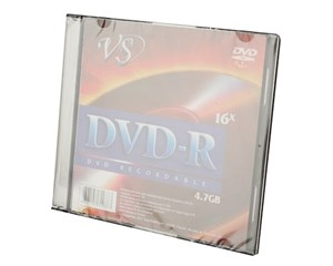 Диск VS DVD-R 4,7Gb 16x Premium