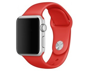 Ремешок W.O.L.T. WT-AWS-SL38 Red для Apple Watch 38/40mm