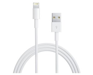 Кабель USB Apple Lightning to USB Cable 1 м White