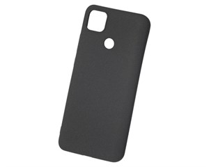 Панель-накладка NewLevel Fluff TPU Hard Black для Xiaomi Redmi 9C