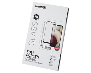 Стекло защитное Hardiz Full Screen Cover Premium Tempered Glass Black Frame для Samsung Galaxy A12