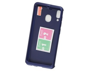 Комплект защитный Fashion Case 360° Protect Case Blue для Samsung Galaxy A30 (2019)