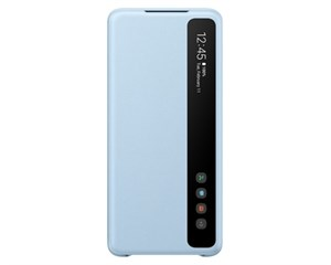 Чехол с дисплеем Samsung Smart Clear View Cover Light Blue для Samsung Galaxy S20+