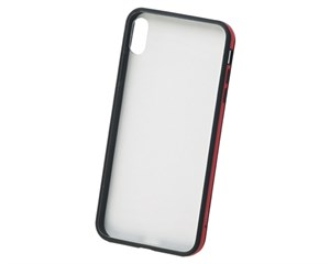 Панель-накладка Uniq Valencia Clear/Red для Apple iPhone XS Max